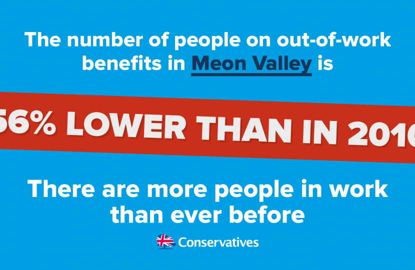 Employment statistics in Meon Valley