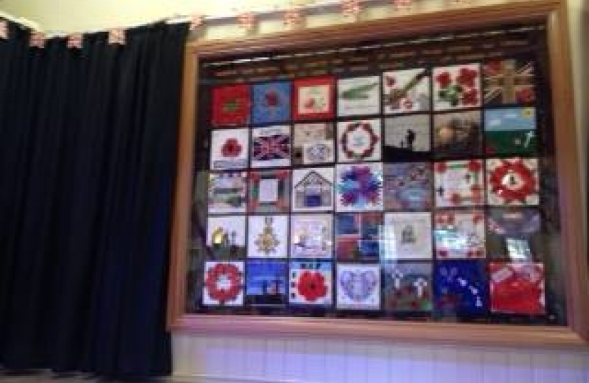 WW1 Commemorative tapestry - Denmead
