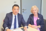 Patricia Stallard meets with Alan Mak MP