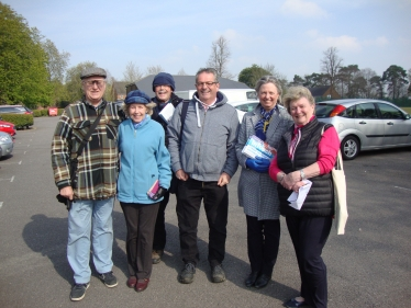 Loraine campaigning in Knowle